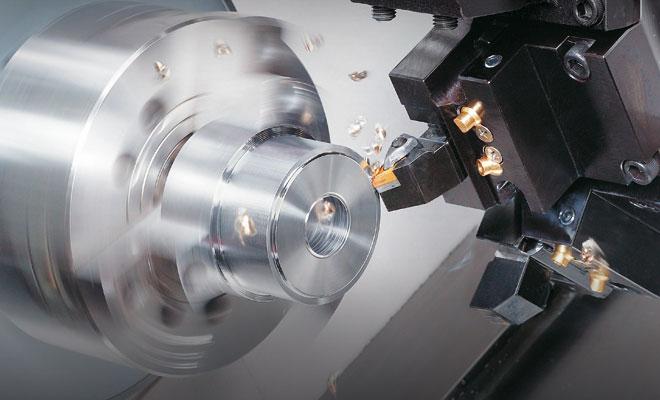 Proceso de torneado en Mecanicas Mecal